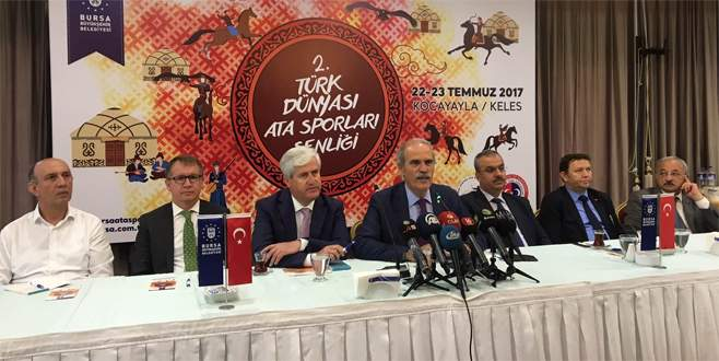 Türk Dünyası Ata Sporları Şenliği'nde Bursa'da buluşuyor