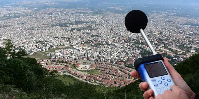 Bursa'da gürültü kirliliğiyle ilgili mücadele