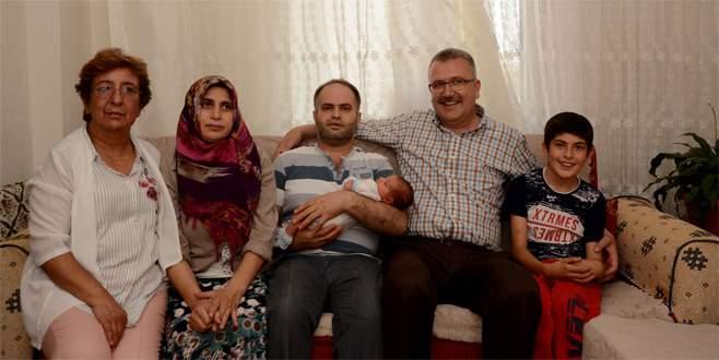Bursalı çift çocuklarına 'Recep Tayyip Erdoğan' ismini verdi