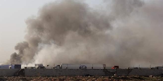 Suriye'deki çatışma Babül Hava sınır kapısına yaklaştı