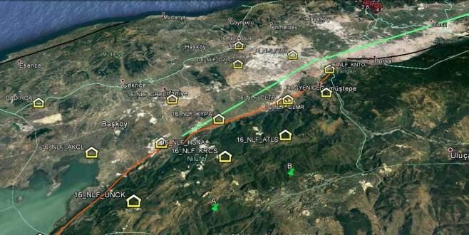 Nilüfer'den geçtiği varsayılan fay hattı için çalışma başlatılıyor