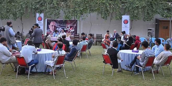TİKA'dan Afgan sanatçılara destek