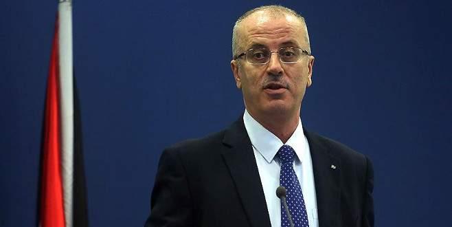 Filistin Başbakanı Hamdallah'tan AB'ye 'İsrail'e baskı' çağrısı