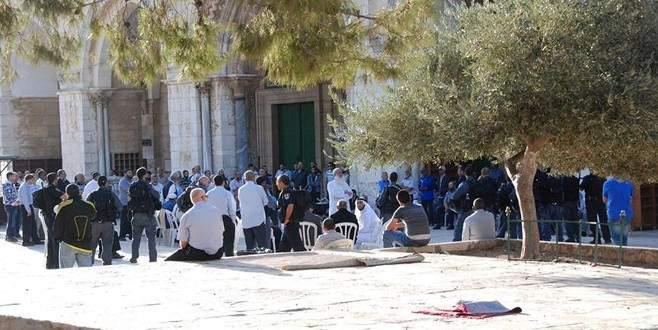 Mescid- Aksa'ya 182 fanatik Yahudi baskın düzenledi