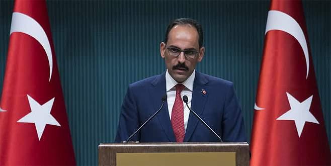 'Kimse Türkiye'yi parmak sallayarak hizaya getirmeye kalkmasın'