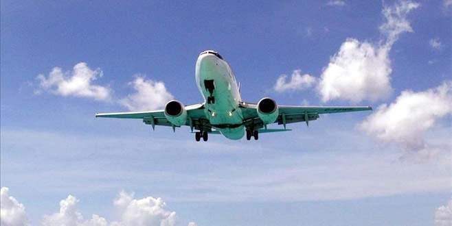 Her 18 saniyede bir uçak geçiyor