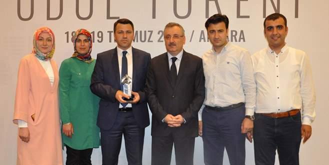 DOSTUM Projesi'ne Ankara'dan ödül