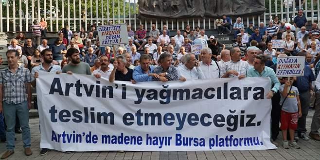 Cerrattepe direnişine Bursa'dan ses verdiler