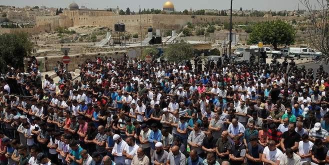 'Kudüs halkı dünya kamuoyundan destek bekliyor'