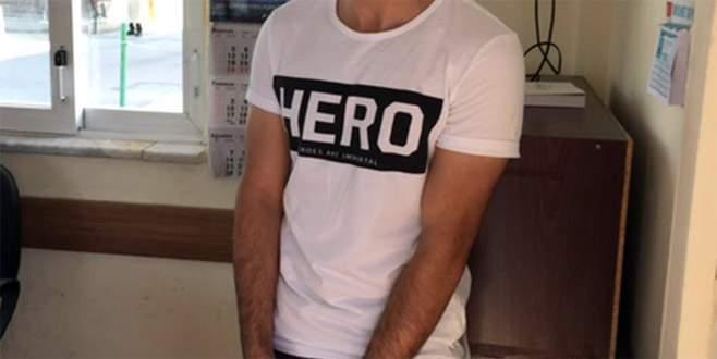 'Hero' yazılı tişört giyen kişi tutuklandı