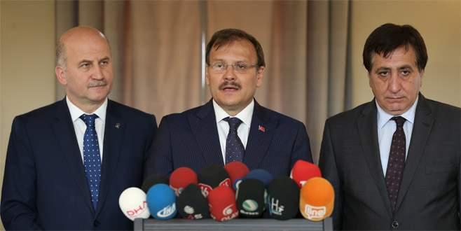 Başbakan Yardımcısı Çavuşoğlu'ndan İsrail açıklaması