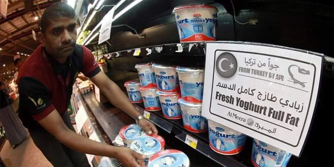 Katar'ın imdadına Türk malları yetişti