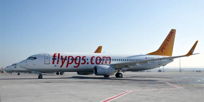 Yolcu uçaklarına sis engeli! 6 uçak Yenişehir'e indi