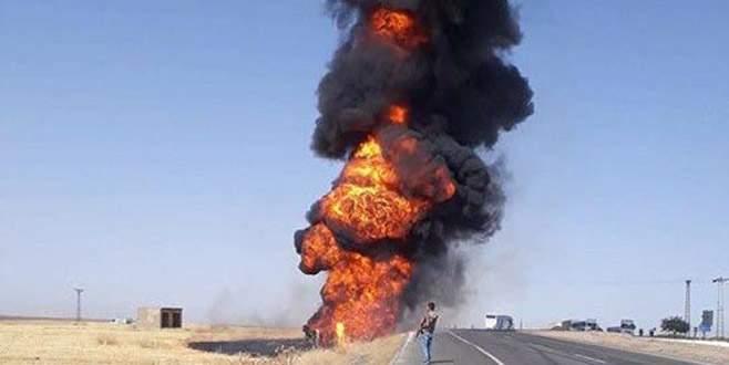 Tanker ile yolcu otobüsü çarpıştı: 1 ölü