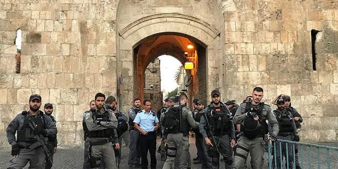İsrail El-Esbat'a güvenlik kameraları yerleştiriyor