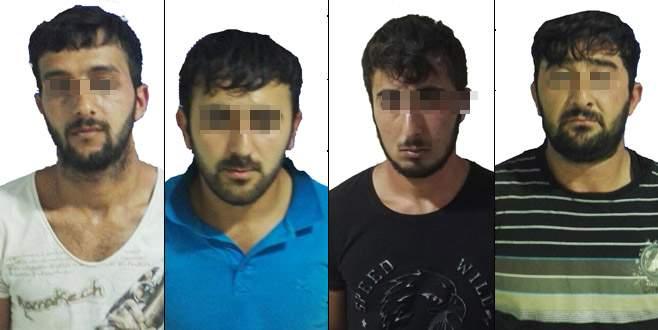 Patronunun parasını gasp edip yakalanan Azeri, kimliğini gizlemiş