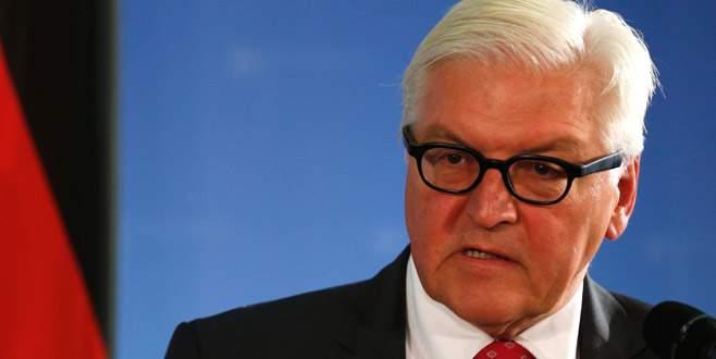 Steinmeier'den sert açıklama