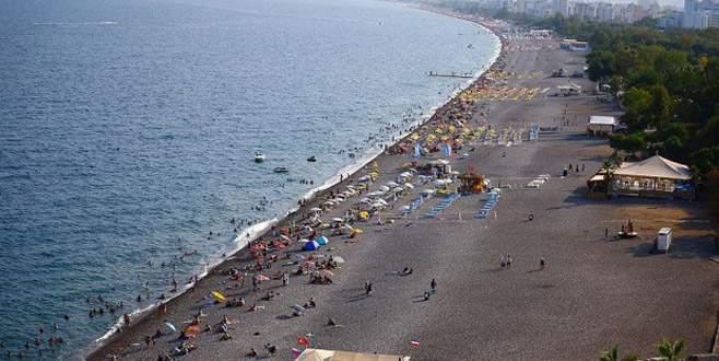 Antalya'ya yılda 10 milyon turist