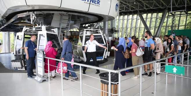 Teleferik'te hedef 1 milyon yolcu