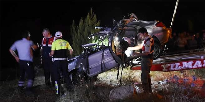 Feci kazada aynı aileden 3 kişi öldü