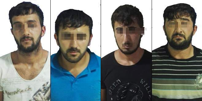 Patronlarının parasını gasp eden 4 zanlı tutuklandı