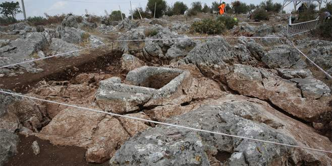Gölyazı'daki nekropol kazıları sona erdi