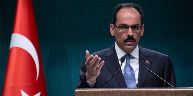 """""""Krizin müzakere yoluyla çözümü için girişimler devam etmeli'"""