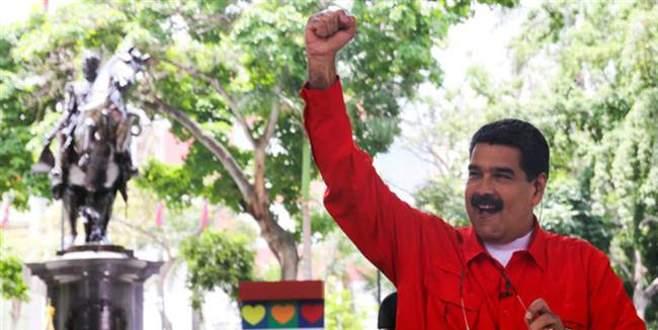 Venezuela'yı halk yönetir