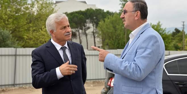 Mustafakemalpaşa'ya 10 binlik su deposu