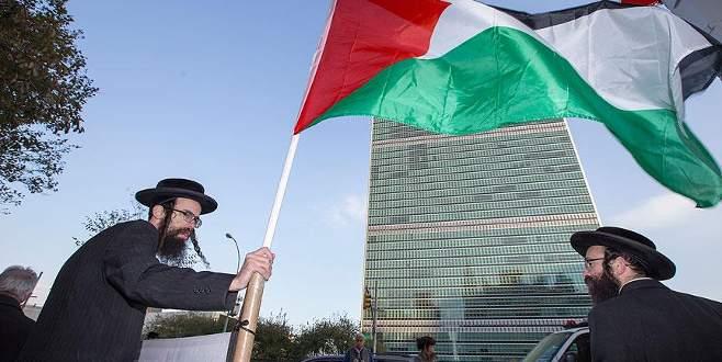 Yahudiler, İsrail'in Mescid-i Aksa'ya yönelik ihlallerini protesto etti