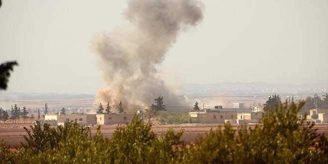 Terör örgütü PKK/PYD'den Azez'e havan topu saldırısı
