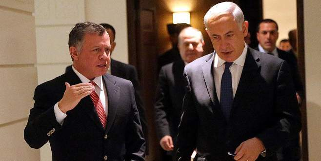 Ürdün Kralı ile Netanyahu Mescid-i Aksa'yı görüştü