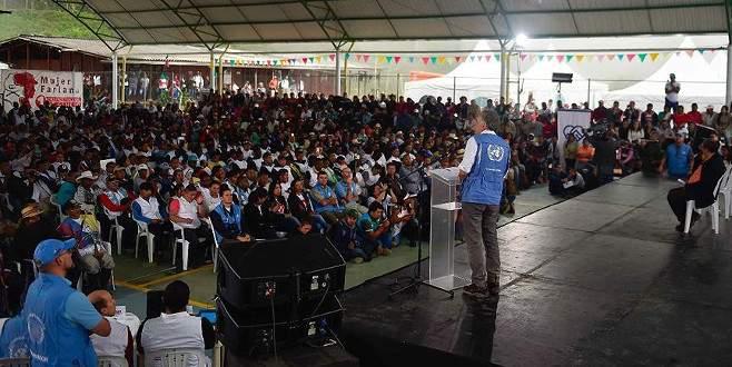 FARC partisini kuruyor