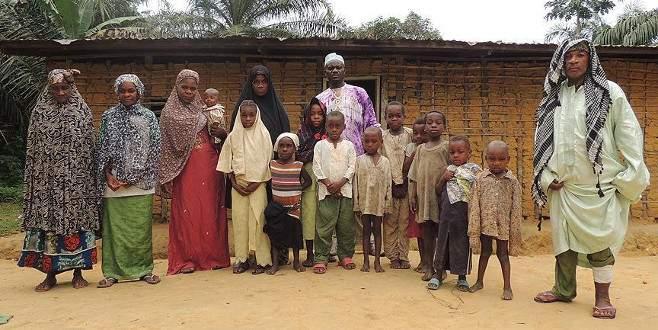 Kamerun'da Müslüman Pigmeler
