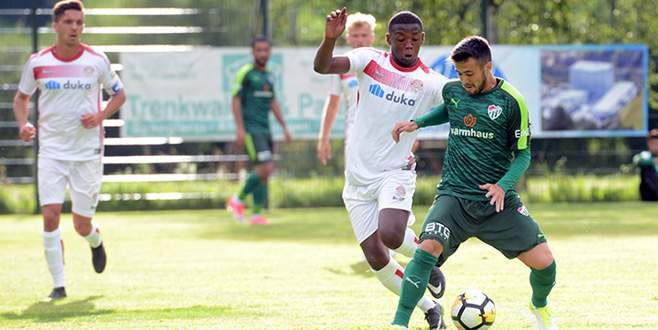 Bursaspor, Südtirol'u rahat yendi: 3-1