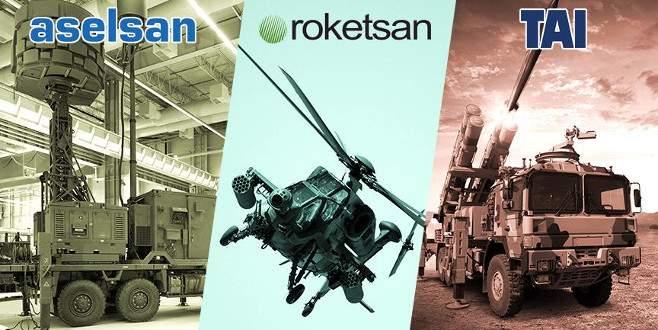 Türk savunma şirketleri tırmanışta