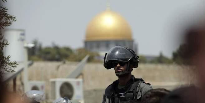 İsrail, Mescid-i Aksa'ya yönelik 110 saldırı ve ihlalde bulundu