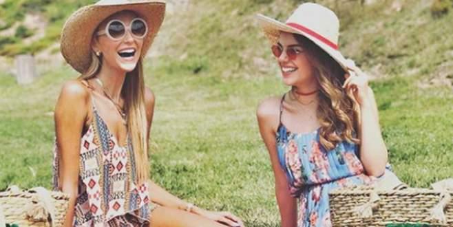 Piknikçi güzeller