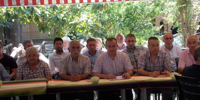 Orhaneli MHP'de toplu istifa