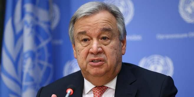 Guterres'ten Mescid-i Aksa açıklaması