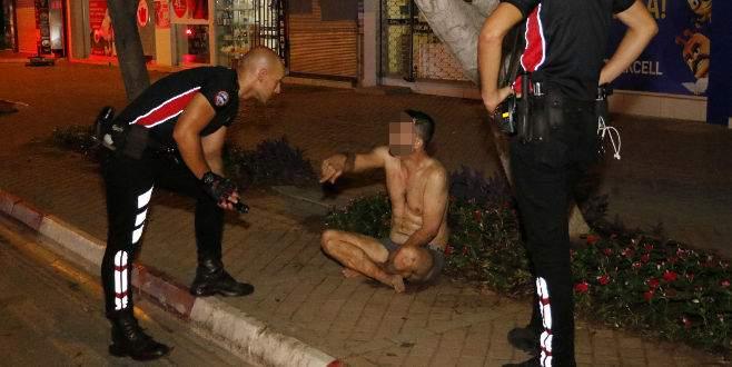 Polisin 'Tarzan Sabri' imtihanı