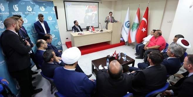 Lübnan'da 15 Temmuz konferansı düzenlendi