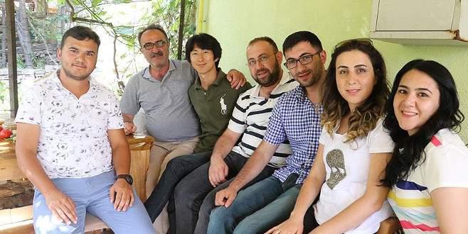 Güney Koreli genç otostopla Türkiye'yi geziyor