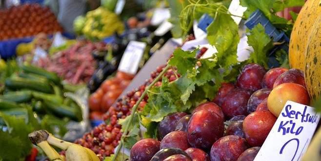 Yaş meyve ve sebze fiyatları