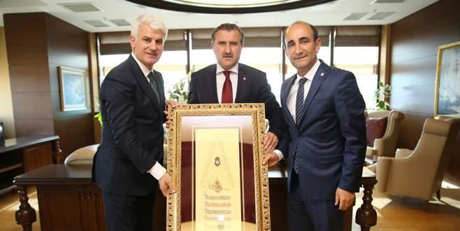 Edebali dönüşümü Ankara'da anlattı
