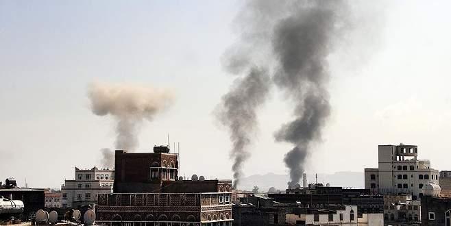 Koalisyon güçleri Sana'ya hava saldırısı düzenledi