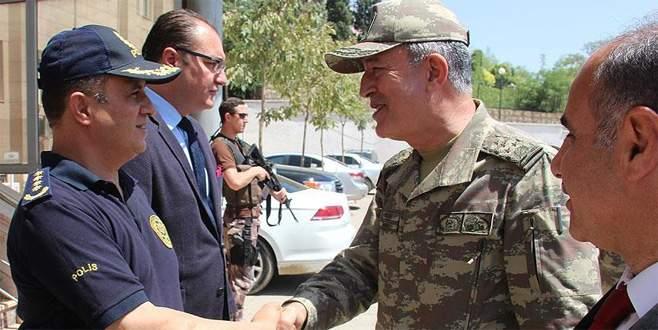 Genelkurmay Başkanı Orgeneral Akar Şırnak'ta