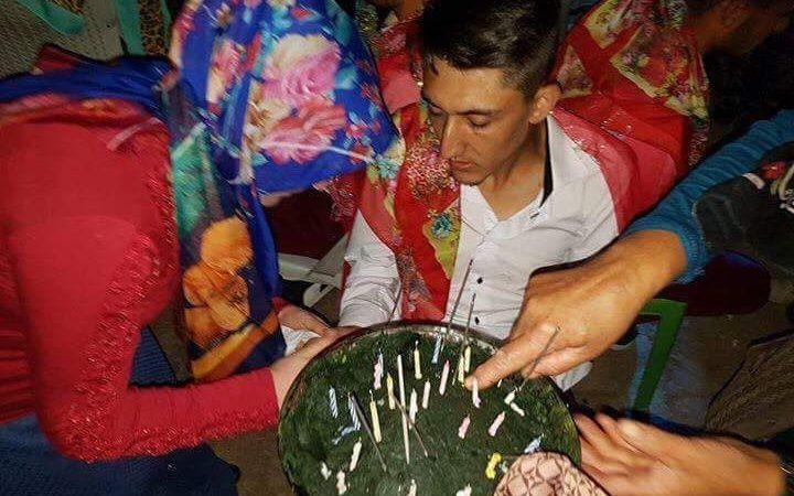 Kızılay Şaphane Şubesinden asker ailelerine gıda yardımı