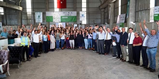 Bursa Çimento Mimarlık öğrencilerini ağırladı