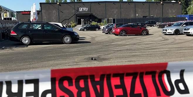 Almanya'da gece kulübünde silahlı saldırı